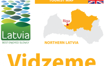 Vidzeme tourist map, Vidzeme Tourism Association