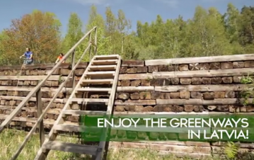 Watch the new Latvian Greenways video here!, Vidzeme Tourism Association