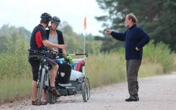 Silver Cyclists project launched, Vidzeme Tourism Association
