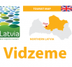 New Vidzeme (North Latvia) tourism map published!, Vidzeme Tourism Association